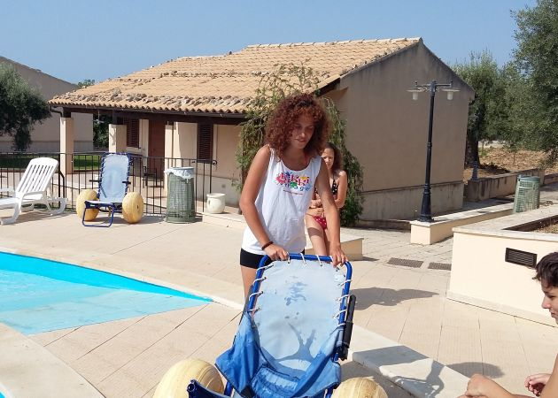 Letto Per Bambini Disabili : Resort per disabili kikki village resort modica bookingbility